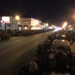 Colony Christmas Parade in downtown Palmer, Alaska