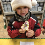 Cookie decorating at Colony Christmas